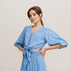 Rut & Circle Women's Shirt TELMA KNOT TOP (RUT21-02-55)
