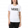 Vans Women's Tee s/s FLYING V CREW (VN0A3UP4WHT)