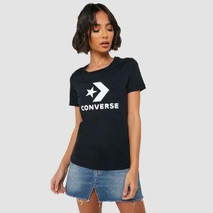 Converse Women's Tee s/s STAR CHEVRON LOGO (10018569-A02)