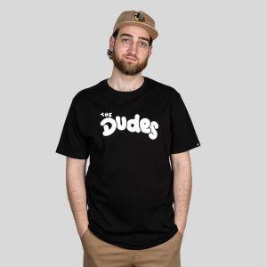 Dudes Men's Tee ss BLACK COMIC (1001202-SUMMER21)