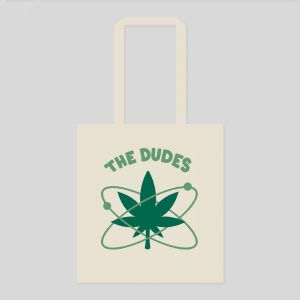 Dudes Tote Bag GREEN SPACE (1011618-FW20)