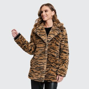 Rut&Circle Women's Jacket NOVA FAUX FUR JACKET (RUT-20-03-93)
