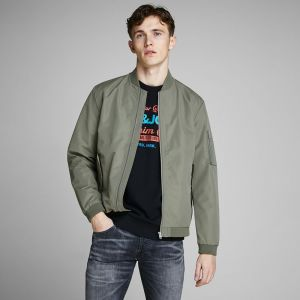 Jack & Jones Men's Jacket JJEDESERT BOMBER (12147376)