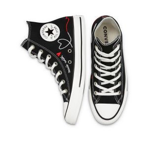 Converse Women's Shoes LOVE THREAD ALL STAR HIGH TOP (171158C)