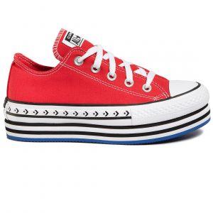 Converse Women's Shoes CTAS PLATFORM LAYER OX (566763C)