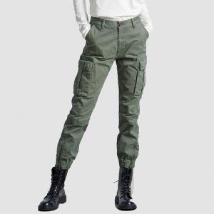 Funky Buddha Women's Cargo Pants (FBL002-120-02)