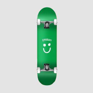 Emillion Skateboard Complete SMILE SERIES GREEN 8.0 (049282)