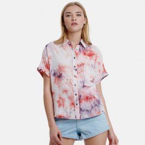 Funky Buddha Women's Shirt s/s (FBL00111005)