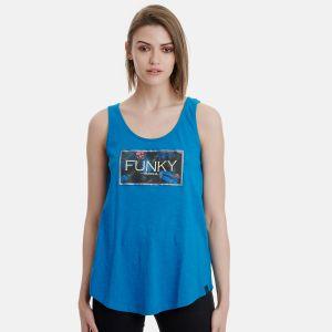 Funky Buddha Women's Tank Tee (FBL00113904)