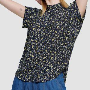Funky Buddha Women's Shirt (FBL003-100-05)