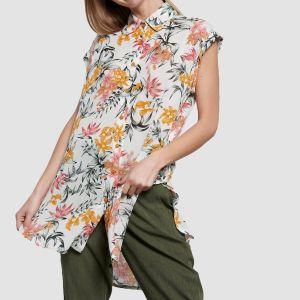 Funky Buddha Women's Shirt ss (FBL003-104-05)