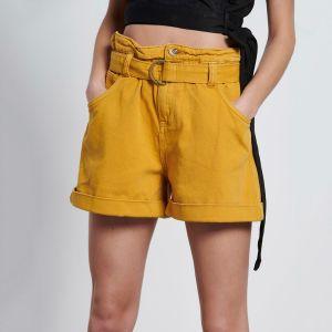Funky Buddha Women's Denim Shorts (FBL003-169-03)