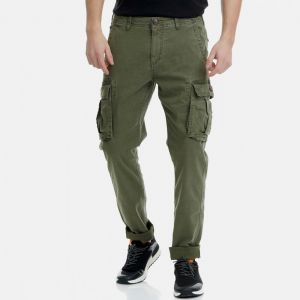 Funky Buddha Men's Cargo Pants (FBM00100202)