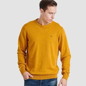Funky Buddha Men's Knit U-Neck (FBM002-001-09)