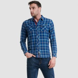 Funky Buddha Men's Shirt (FBM002-040-05)