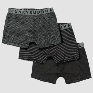 Funky Buddha Men's Underwear (3pack) - (FBM002-093-10)