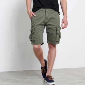 Funky Buddha Men's Cargo Shorts (FBM003-002-03)