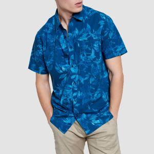 Funky Buddha Men's Shirt s/s (FBM003-049-05)