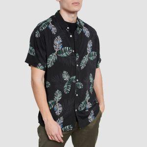 Funky Buddha Men's Shirt s/s (FBM003-054-05)