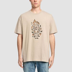 Globe Men's Tee s/s APPLEYARD STACKER TEE (GB02030014)
