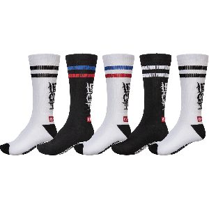 Globe Socks LETS GET IT CREW 5PACK (7-11) - (GB71819031)