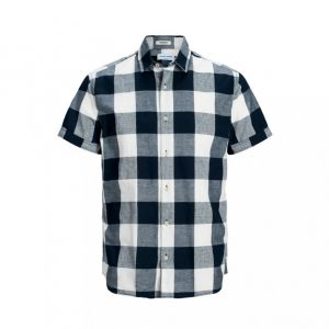 Jack & Jones Men's Shirt s/s JORGILBERT SHIRT (12167509)