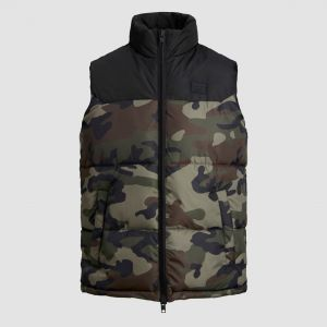 Jack & Jones Men's Vest JJDREW PUFFER BW (12173864)