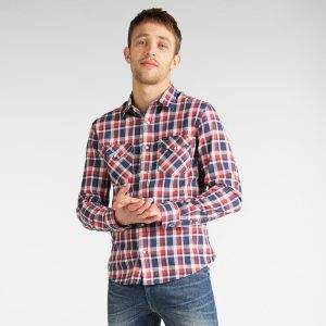Lee Men's Shirt CLEAN WESTERN SLIM (L644DINH)