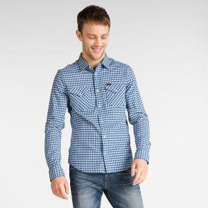 Lee Men's Shirt CLEAN WESTERN SLIM (L644DJLR)
