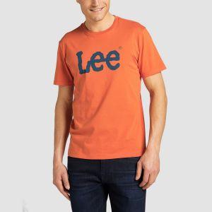 Lee Αντρικό Μακό Κ/Μ WOBBLY LOGO TEE (L65QAIBH)