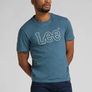 Lee Men's Tee s/s WOBBLY LOGO TEE (L65QAIQO)