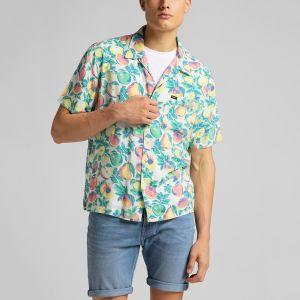 Lee Men's Shirt SS RESORT SHIRT (L67PQJQD)