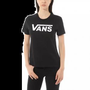 Vans Women's Tee s/s FLYING V CREW (VN0A3UP4BLK)