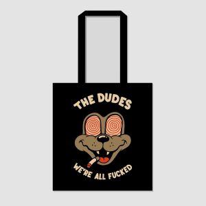 Dudes Tote Bag TWIRLY EYES (1014302-FW20)