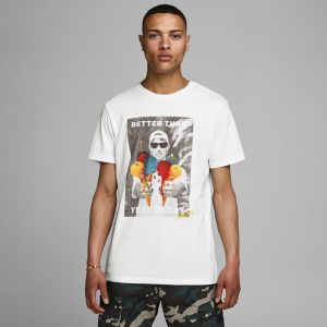 Jack & Jones Men's Tee s/s JORFARIAN CREW NECK (12155613)