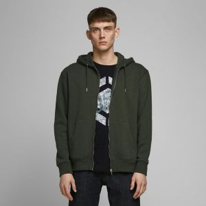 Jack & Jones Men's Zip Hood JJESOFT SWEAT ZIP HOOD NOOS (12161086)