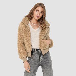 Only Women's Jacket ONLELLIE SHERPA BOMBER CC OTW (15206222)