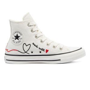 Converse Women's Shoes LOVE THREAD ALL STAR HIGH TOP (171159C)