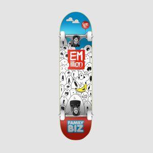 Emillion Skateboard Complete ART SERIES FAMILY BIZ 7.875 (049295)