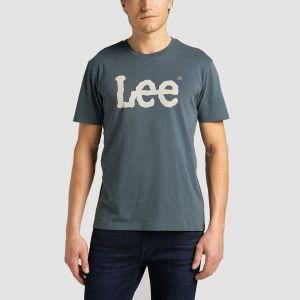 Lee Αντρικό Μακό Κ/Μ WOBBLY LOGO TEE (L65QAITG)