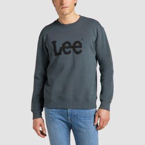 Lee Αντρικό Φούτερ BASIC CREW LOGO SWS (L80XTJTG)